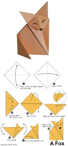 We& always wanted to build origami shapes, but it looked too hard to learn. Turns out we were wrong, we found these awesome origami tutorials that would allow any beginner to start building origami shapes. Origami Design, Instruções Origami, Origami Shapes, Origami Patterns, Origami Dragon, Paper Crafts Origami, Origami Flowers, Origami Ideas, Origami Bookmark