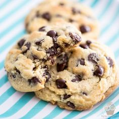 Deliciously soft and chewy Chocolate Chip Cookies - So amazingly good, it's the last chocolate chip cookie recipe you'll ever need!