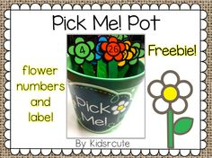 Creative Lesson Cafe: Weekend Warriors: Back to School Ideas and a Freebie Pick Sticks Pot