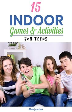 Are your teen's friends coming over to your place for a get-together? Want to plan some fun indoor games? Check 15 amazing indoor activities for teens.