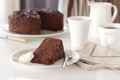 Ingredients 125g butter 1 cup brown sugar 1/2 cup white sugar 3 eggs 2 1/2 cups flour 1 teaspoon vanilla essence 1/2 cup yoghurt 1/4 cup cocoa 2 teaspoons baking soda 1 teaspoon cinnamon 1/2 teaspo…