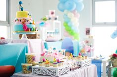Girly Pocoyo Party