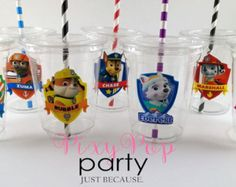 Best Garden Decorations Tips and Tricks You Need to Know - Modern Paw Patrol Party Favors, Paw Patrol Party Decorations, Paw Patrol Birthday Cake, Birthday Party Decorations, Sky Paw Patrol, Paw Patrol Cups, Cumple Paw Patrol, Boys First Birthday Party Ideas, Party Cups