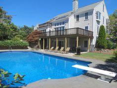 Everyone in the pool! #prettypickyproperties #CapeCod #Vacationrental #pool