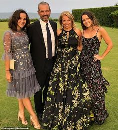 Katie Couric dress only reveals her daughter Ellie is engaged Bridesmaid Dresses, Prom Dresses, Formal Dresses, Wedding Dresses, Katie Couric, Wedding Weekend, New Girl, Flower Power, Daughter