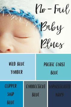 Looking for the perfect blue hue? Here's a few of our favorites! #gliddenpaint #bluepaint #paintcolors #nurserydecor #kidrooms