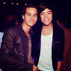 Teen Wolf's Dylan O'Brien and One Direction's Harry Styles!