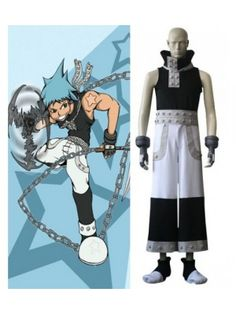 Soul Eater Black Star Cool Cosplay Outfits Costumes
