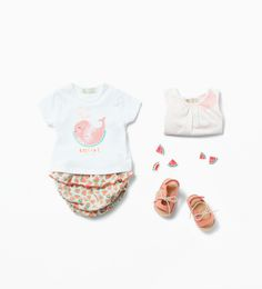 Image 1 of from Zara Little Fashion, Fashion Kids, Toddler Fashion, Zara Kids, Baby Kids Clothes, Baby & Toddler Clothing, Trendy Outfits, Kids Outfits, Look Zara