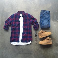 Outfit grid - That special shirt look