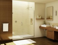 At Hopkins Glass, we offer affordable Custom Cut Glass Shower Doors to fit your space and budget. Buy quality glass shower doors and enclosures at great prices! Frameless Shower Enclosures, Frameless Shower Doors, Glass Shower Doors, Shower Screens, Tub Enclosures, Commercial Glass Doors, Shower Alcove, Shower Tub, Custom Shower Doors