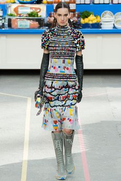 #Chanel #FW2014_15 #trends #colorFul #Catwalk #PFW #Paris