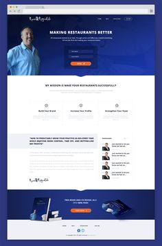 Credibility site for Restaurant Coach by Kukiceva