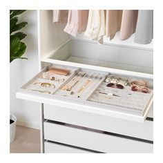 10 Beautiful Open Closet Concepts For Sophisticated Home storage Ikea Bedroom Closet Design, Master Bedroom Closet, Closet Designs, Bedroom Decor, Master Closet Layout, Bedroom Storage, Master Bedrooms, Bedroom Furniture, Ikea Closet Design