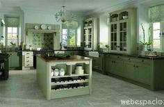 Un ambiente rústico ideal Claro que hace falta espacio... #diseño #kitchen
