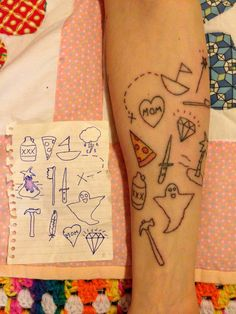 Tattoo from a simple drawing delightful-skin-art Girly Tattoos, Pretty Tattoos, Love Tattoos, Picture Tattoos, Body Art Tattoos, Small Tattoos, Random Tattoos, Tatoos, Dainty Tattoos
