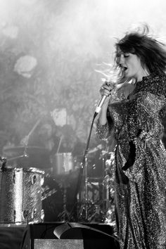 Florence | sparkle and shine | perform | sing | music | glitter | onstage