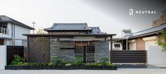 水平ラインが美しい愛知県のエクステリア