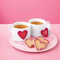 Sweet idea: Valentine's Day tea for two!