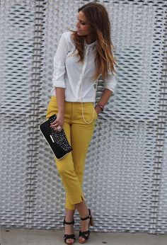 Brighten Up Your Spring Wardrobe With Colored Jeans - Fashion Diva Design