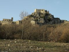 Great: Rocchetta al Volturno was once an important monastic court - but has since been aba...