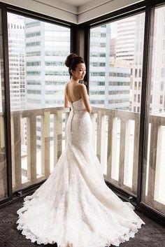 Understated Elegance in San Francisco Wedding - MODwedding
