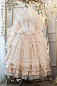 Frilly Dresses, Royal Dresses, Old Dresses, Estilo Lolita, Girl Outfits, Cute Outfits, Gothic Lolita, Lolita Style, Cosplay