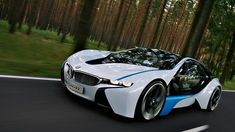 BMW I8 HD Vision Wallpaper Wide