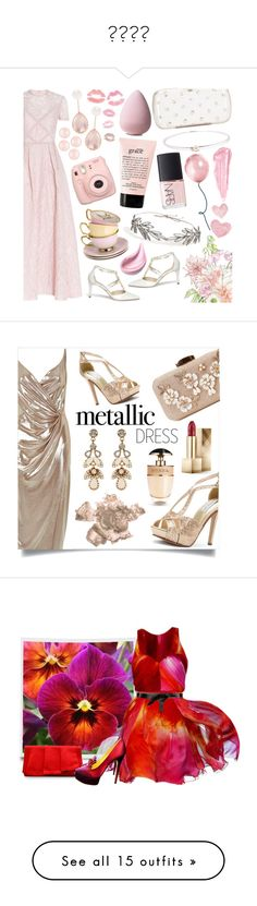 """""""❤❤❤❤"""" by kitty2595 ❤ liked on Polyvore featuring Elie Saab, René Caovilla, Lela Rose, Larkspur & Hawk, Henri Bendel, By Terry, Jennifer Behr, Fujifilm, philosophy and NARS Cosmetics"""