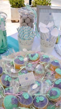 #στολισμος βαπτισης cup cakes