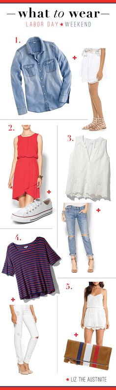 Style inspiration for your Labor Day Weekend #fashion