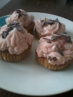CUPCAKES CON MANTEQUILLA Cupcakes, Muffin, Pudding, Breakfast, Desserts, Food, Butter, Flan, Muffins
