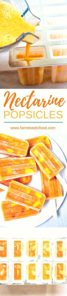 These Nectarine Pops