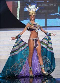 Desfile traje típico Miss Universo 2012: Miss Puerto Rico