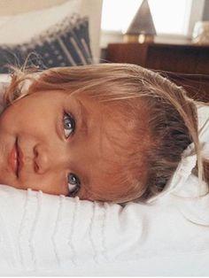 Llamas and Apple Picking - Barefoot Blonde by Amber Fillerup Clark - child - Little Babies, Little Ones, Cute Babies, Baby Kids, Beautiful Children, Beautiful Babies, Beautiful Eyes, Baby Pictures, Baby Photos