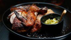 On trend:  Pollo a la Brasa is served at Pastuso Peruvian restaurant in Melbourne.