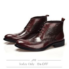 Today Only! 15% OFF{{Boots - Vincent}} .  Follow us on Pinterest to be the first to see our exciting Daily Deals. Today's Product: Boots - Vincent Buy now: https://small.bz/AAaudYM   #musthave #loveit #instacool #shop #shopping #onlineshopping #instashop #instagood #instafollow #photooftheday #picoftheday #love #OTstores #smallbiz #sale #dailydeal #dealoftheday #todayonly #instadaily