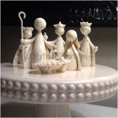 1960s Modern  NativityMidcentury Crèche by VintessentialGoods, $75.00