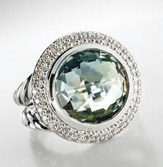 David Yurman ring I'm really into gemstones all of a sudden.