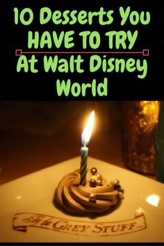 10 Desserts You Have To Try At Walt Disney World Dining At Disney World, Disney Dining Tips, Disney World Food, Disney Worlds, Best Disney World Restaurants, Walt Disney World Vacations, Disney Parks, Disney World Tips And Tricks, Disney Tips