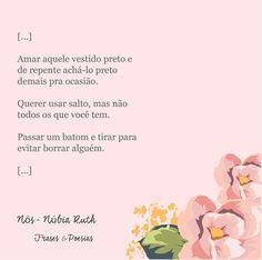 Blog: Frases & Poesias Por: Núbia Ruth