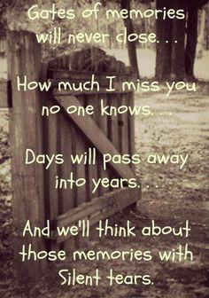 How I miss u..