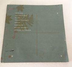 Paintings & Sculptures of the Pacific Northwest Oregon Portland Softcover 1959