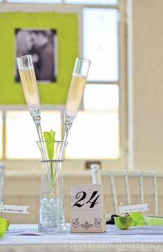 Toast to a beautiful future with equally lovely stemware! #weddingweek