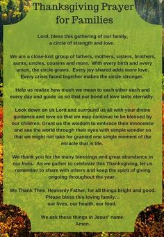 Get here the Thanksgiving prayer for the family. We have collection of short, long and printable thanksgiving prayers by family at dinner Thanksgiving Prayers For Family, Printable Cards, Printables, Relationship Prayer, Prayer For Family, Thoughts, Dinner, Collection, Quotes
