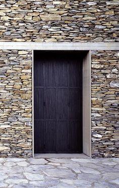 herzog + de meuron / stone house . tavole