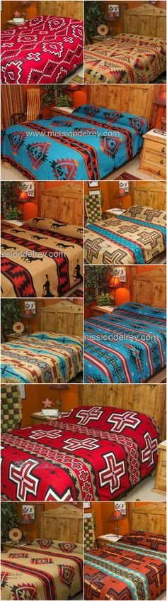 Dress Up Any Room With Great Western Style By Simply Adding A Western  Bedspread From Our