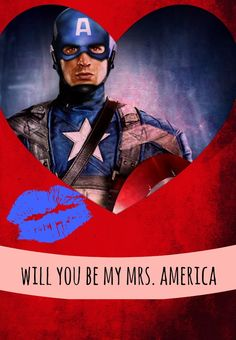 Avengers Valentines why of course steve!<3