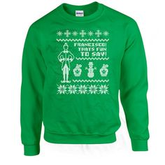 Funny Christmas Sweatshirt Buddy The Elf Sweater Christmas Hoodie Holiday Gifts Christmas Present Ideas Gifts For Christmas X-Mas DN-253