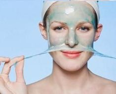 Homemade peel-off face mask recipes